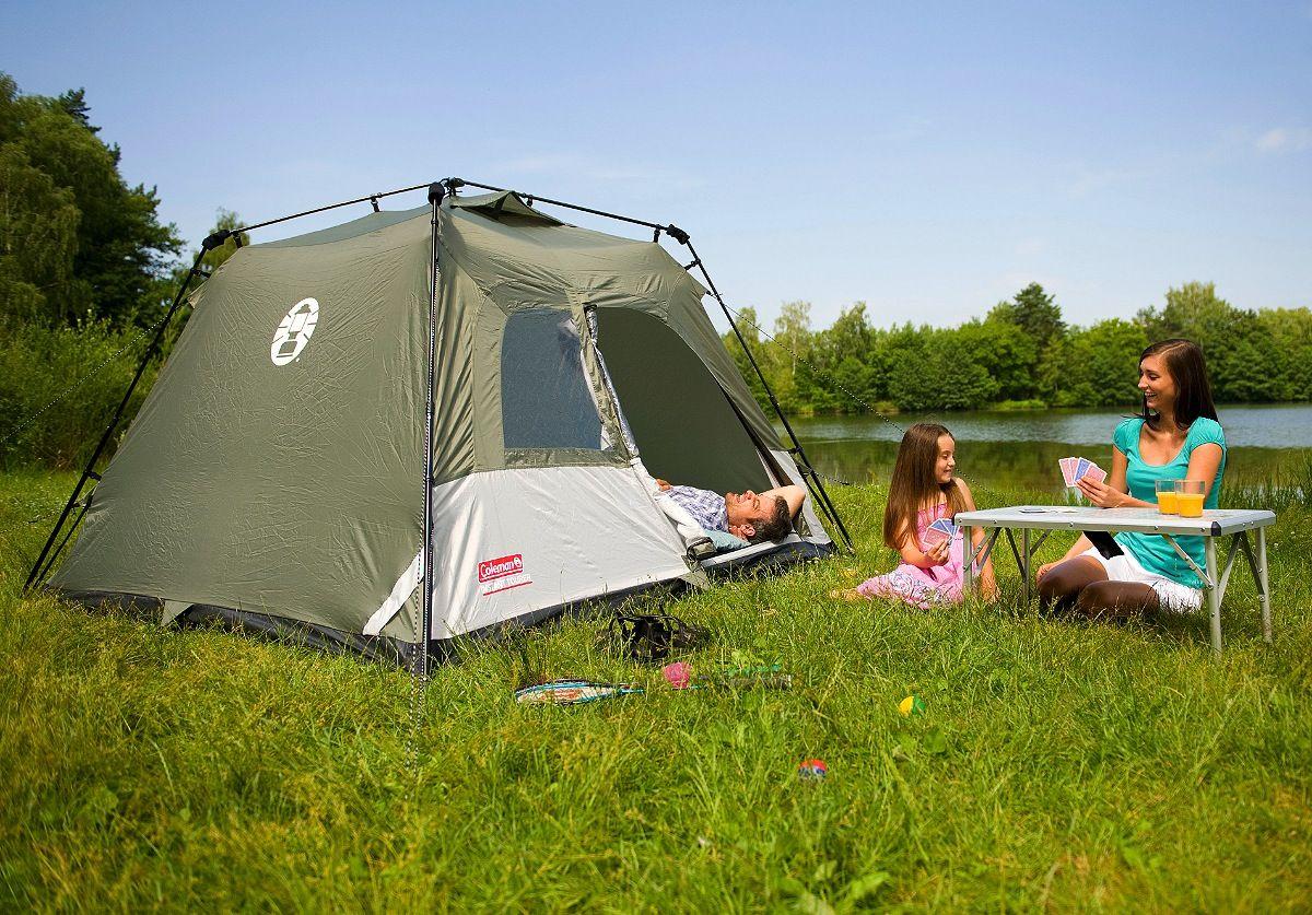 Coleman Instant Tent 4 Coleman Instant Tent Tourer & Coleman Instant Tent 4 images